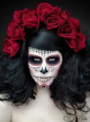 bron: http://www.skullspiration.com/sugar-skull-makeup-ideas/